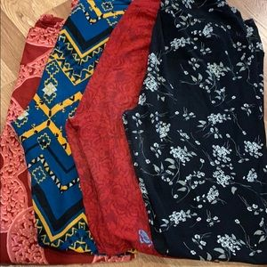 Lot of 4 lularoe TC leggings